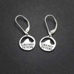 Grand Teton Earrings | Sterling Silver