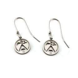 AT Sunburst Earrings | Stainless Steel