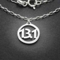 13.1 Charm Necklace | Sterling Silver | 18 inch Silver Chain