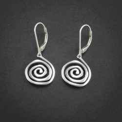 Spiral Earrings | Sterling Silver