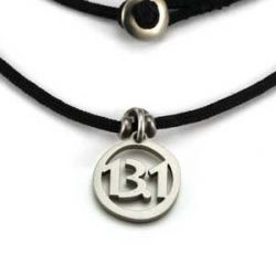 13.1 Charm | Stainless Steel | 1.5mm Polycord