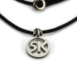 5K Charm | Stainless Steel | 1.5mm Polycord