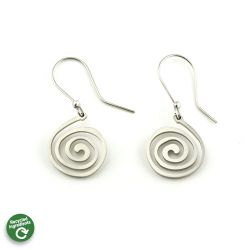 Spiral Earrings | Stainless Steel