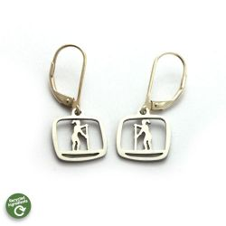 SUP Gal Earrings | Stainless Steel