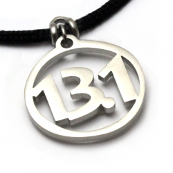 13.1 Pendant | Stainless Steel | 2mm Polycord