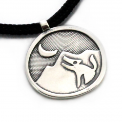 Nature Calling Pendant | Sterling Silver | 2mm Polycord