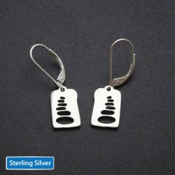 Cairn Earrings | Sterling Silver