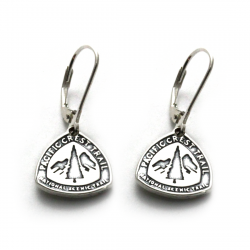 PCT Leverback Earrings | Sterling Silver