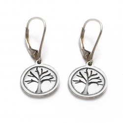 Tree of Life Earrings | Sterling Silver