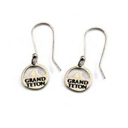 Grand Teton Earrings | White Bronze