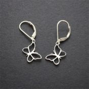Butterfly Earrings | Sterling Silver
