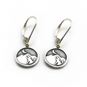Nature Calling Earrings | Sterling Silver