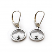 Mountain Spirit Earrings | Sterling Silver
