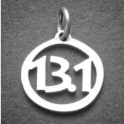 13.1 Charm | Sterling Silver
