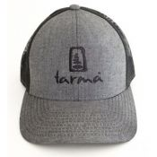Tarma Trucker Hat | Grey & Black