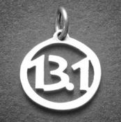 13.1 Charm   Sterling Silver