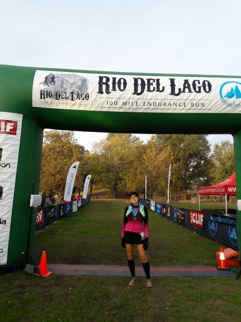 standing at 100 mile endurance run finish line